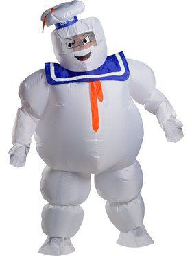 Ghostbusters Stay Puft Inflatable Costume for Adults