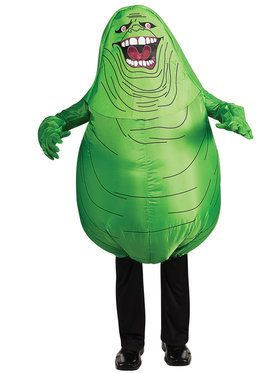 Ghostbusters' Inflatable Slimer Child Costume