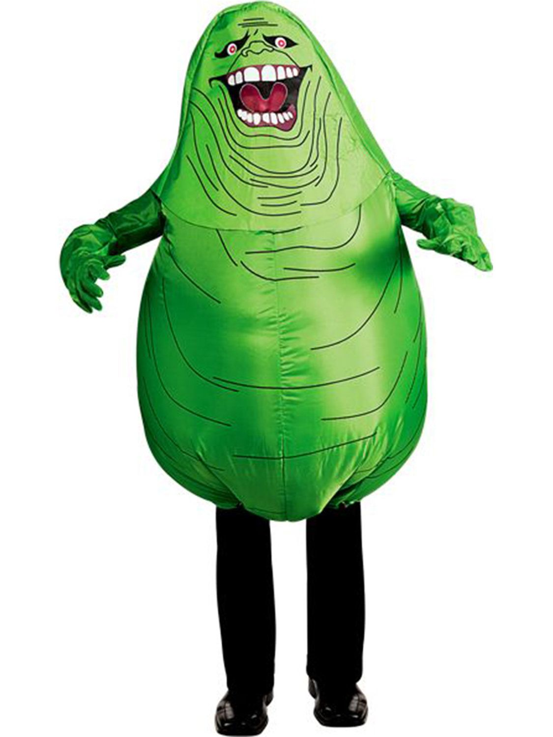 Ghostbusters Inflatable Slimer Menu0027s Costume  sc 1 st  Wholesale Halloween Costumes & Inflatable Slimer Costume - Ghostbusters Mens Costumes