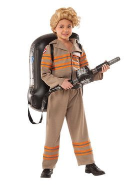 Ghostbusters Movie: Ghostbuster Female Deluxe Costume For Children
