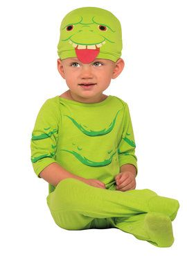 Ghostbusters Slimer Jumpsuit Costume Toddler