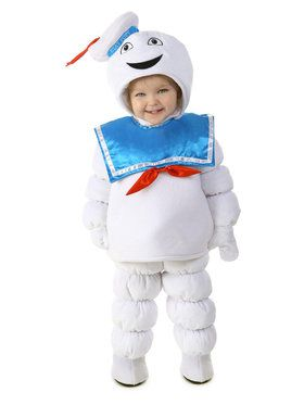 Ghostbusters Stay Puft Costume For Children