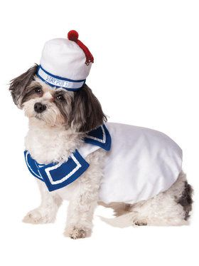 Ghostbusters Stay Puft Costume For Pets