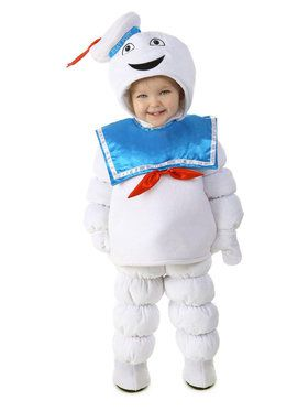 Ghostbusters Stay Puft Costume For Toddlers