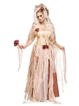 Ghostly Bride Women's Costume