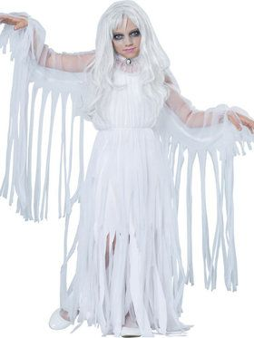 Ghostly Girl Girl's Costume