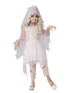 Ghostly Girl Costume for Kids