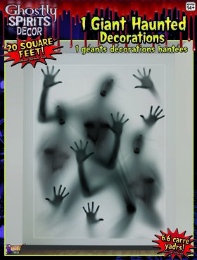 Ghostly Spirits Door Decor