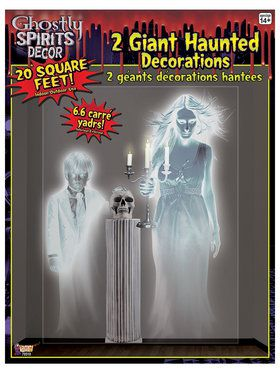 Ghostly Spirits Wall Decoration
