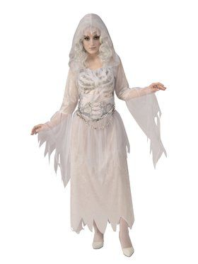 Ghostly Woman Costume for Adults