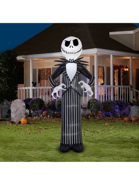Giant Disney Jack Skellington Airblown