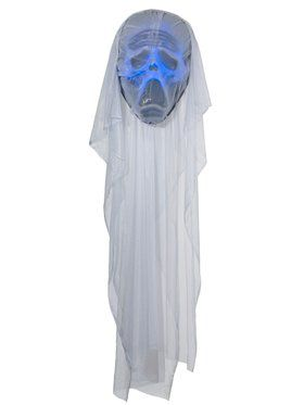 Giant Light Up Face Prop Ghost Decoration