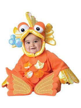 Giggly Goldfish Costume Toddler