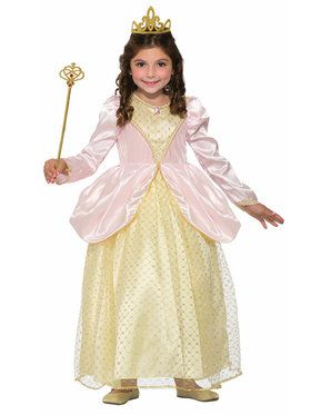 Gilded Rose Princess Girl's Costume