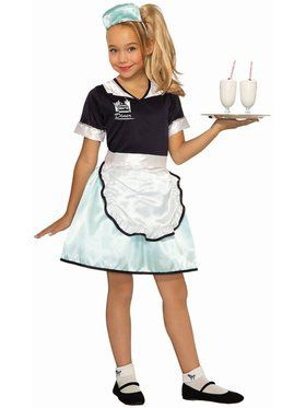 50's Diner Waitress Costume