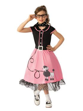 97247df240 50's Sweetheart Girls Costume - Girls Costumes for 2018 | Wholesale ...