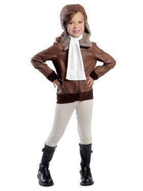 Child Amelia the Aviator Costume