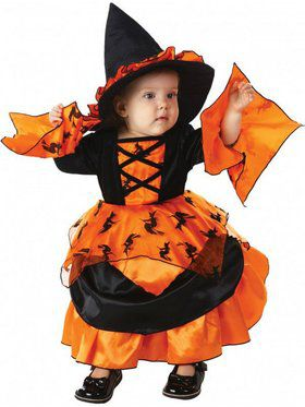 Girls Amelia the Witch Child Costume