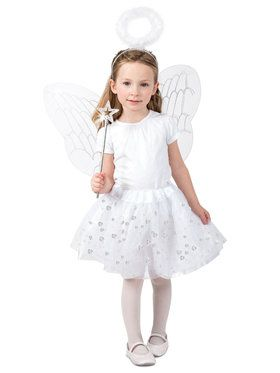 Angel Skirt Set Girls Costume