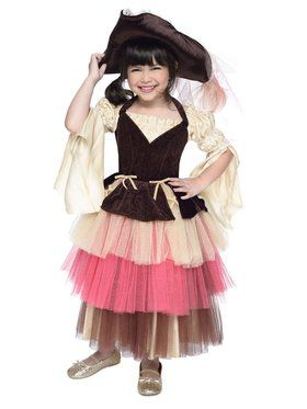Child Pirate Audrey Costume
