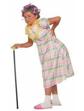 Aunt Gertie Costume For Girls