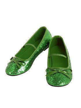Green Ballet Slippers