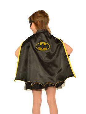 Girls Batgirl Cape