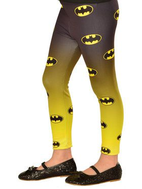 Footless Batgirl Tights