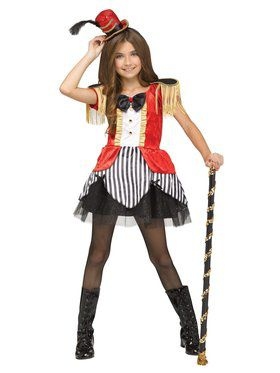 Girls Ringleader Costume
