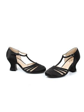 Girls Black Lucille Shoes