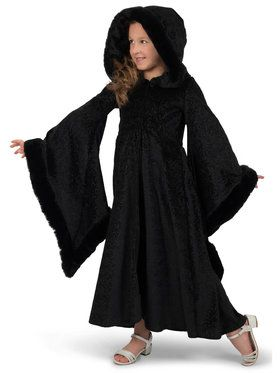 Royalty Black Cloak Costume