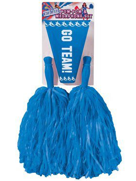 Girl's Blue Cheerleader Kit