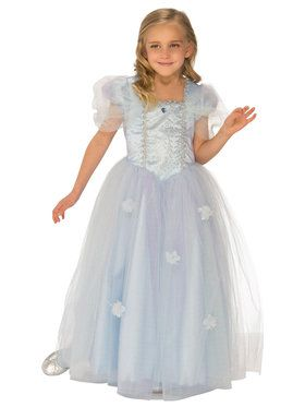 Blue Ice Princess Costume for Girls