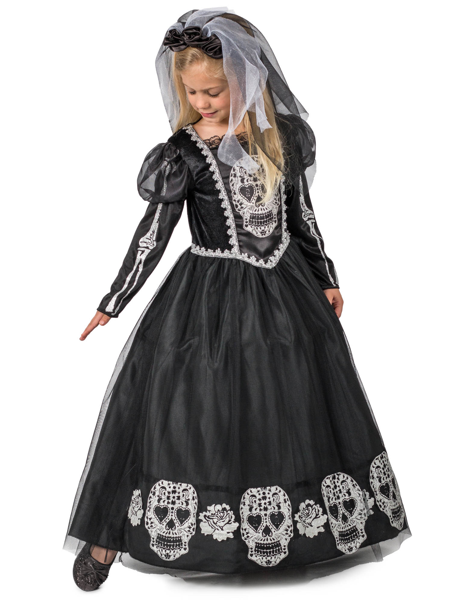 princess paradise bride of the dead girls costume