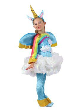 Girls Candy Catchers Unicorn in the Clouds Child Costume