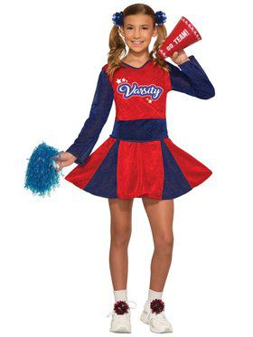 Cheerleader Girls Costume