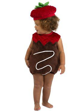 Chocolate Strawberry Girl's Costume