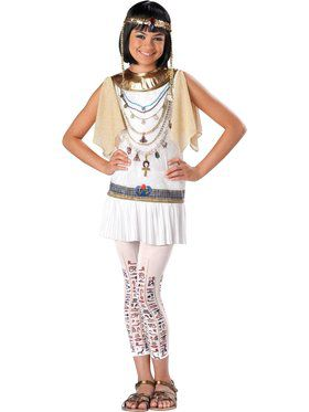 Girls Cleo Cutie Costume