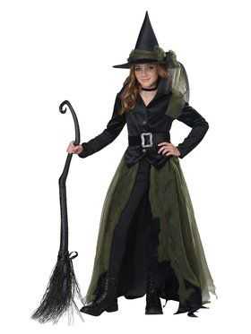 Cool Witch Girls Costume
