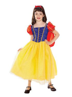 Girls Fairest Princess Costume