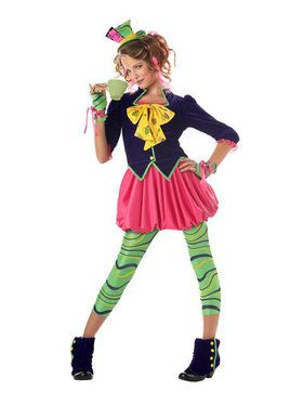 Girls Crazy Tea Lover Costume