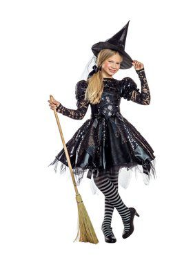 Dark Witch Girls Costume