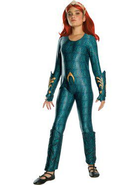 Kid's Aquaman Movie Deluxe Mera Costume