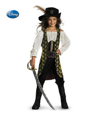 Girls Deluxe Pirates of the Caribbean Angelica Costume  sc 1 st  Wholesale Halloween Costumes & Clearance Costumes | Wholesale Halloween Costumes