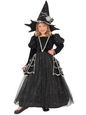 Diamond Witch Girl's Costume