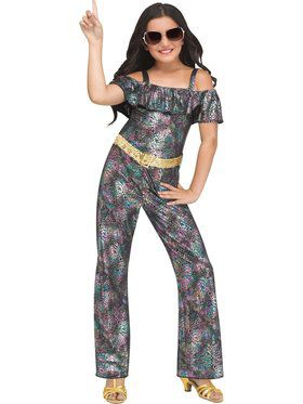 Disco Diva Girl's Costume