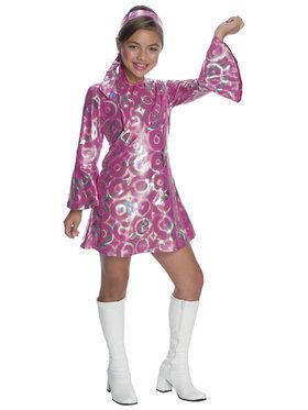 Disco Princess Girls Costume