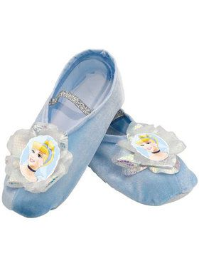Girls Disney Cinderella Ballet Slippers