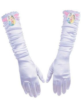 Girls Disney Princess Full Length Gloves