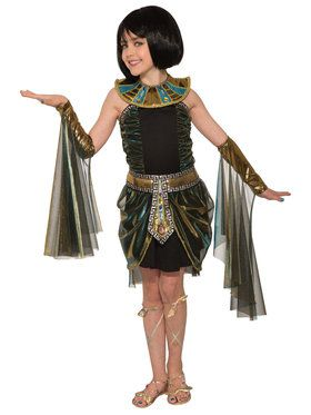Girl's Egyptian Fantasy Child Cleopatra Costume